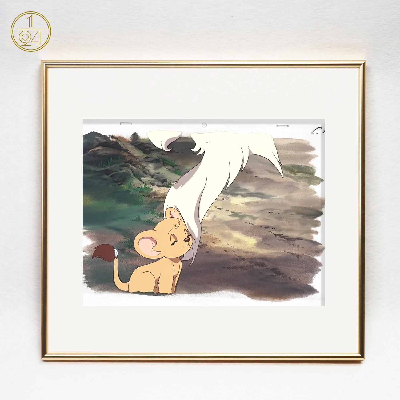 森林大帝|雷欧 日本原版赛璐璐作品 (赛璐璐 背景