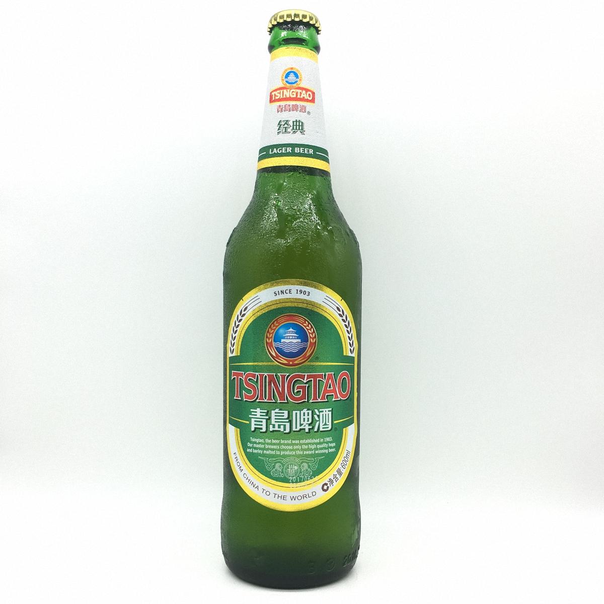 瓶装青岛啤酒600毫升