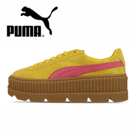 4色可选丨新品到货 Puma x Fenty Cleated Creeper 蕾哈娜厚底松糕鞋 366268-03