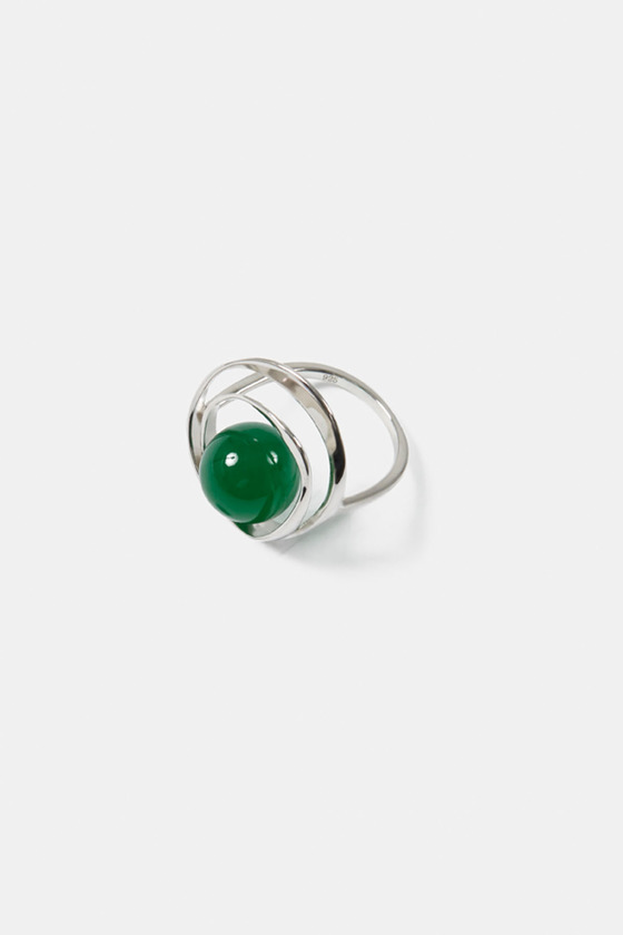 TORUS RING- GREEN AVENTURINE