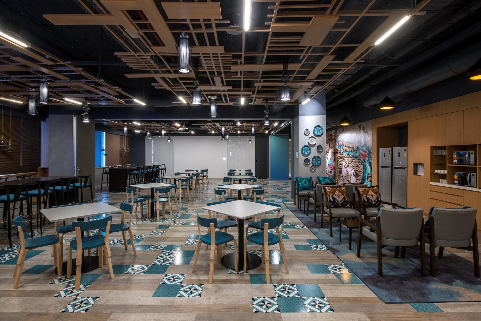 1:微软办公室设计  摘要:一个新兴的11,00平方米的办公室,在这个正在