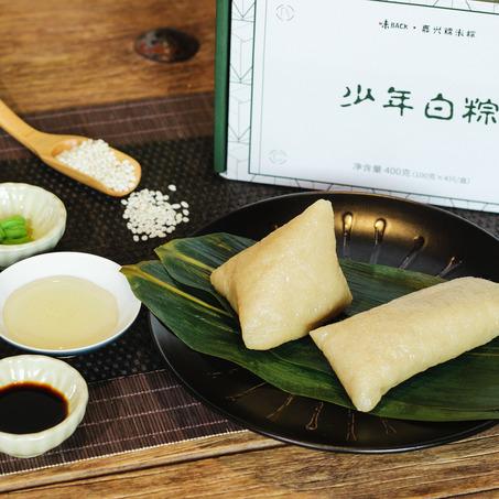 嘉兴少年白粽   新米嫩叶 味道纯粹-7
