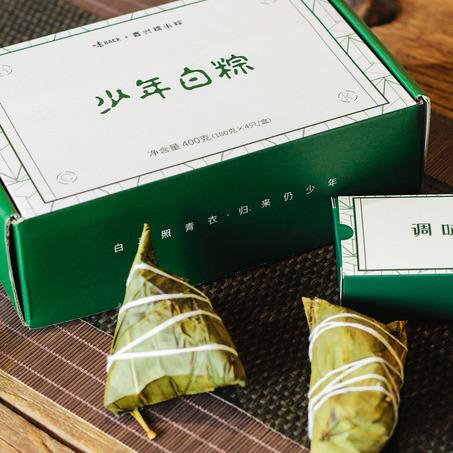 嘉兴少年白粽   新米嫩叶 味道纯粹-2