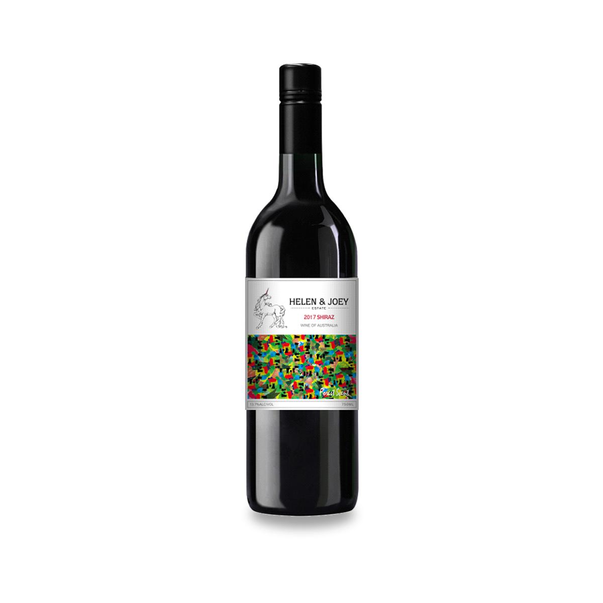 紅角莊森林氣息設拉子干紅葡萄酒-3
