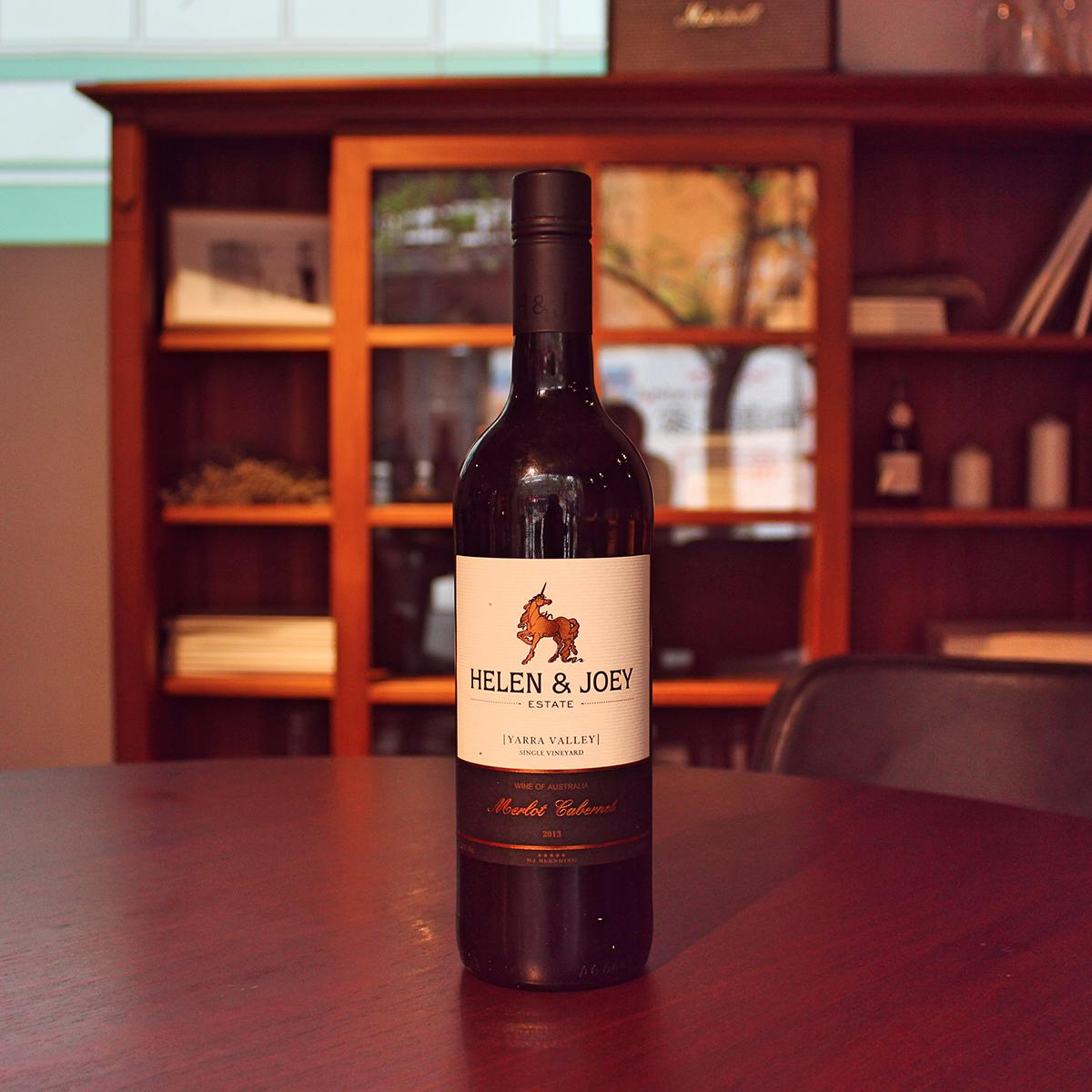 紅角莊2013梅洛赤霞珠干紅葡萄酒