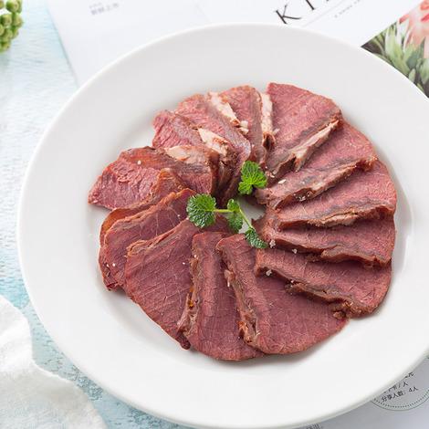 即食低脂健身牛肉120g-5