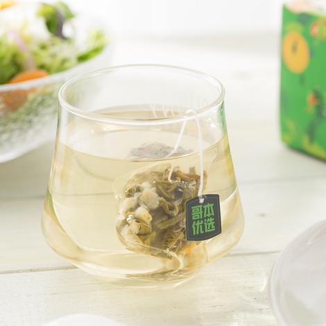 茉莉风味柠檬果粒绿茶-2