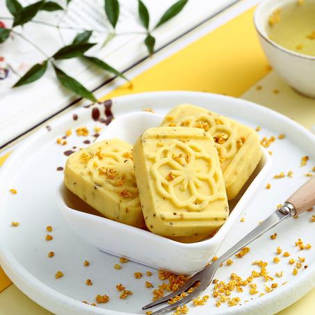 杭州桂花糕   吃进一个秋天的桂花香
