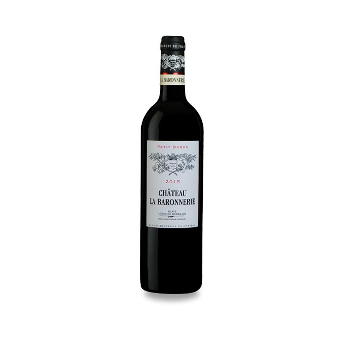 男爵城堡小巴戎干紅葡萄酒-3