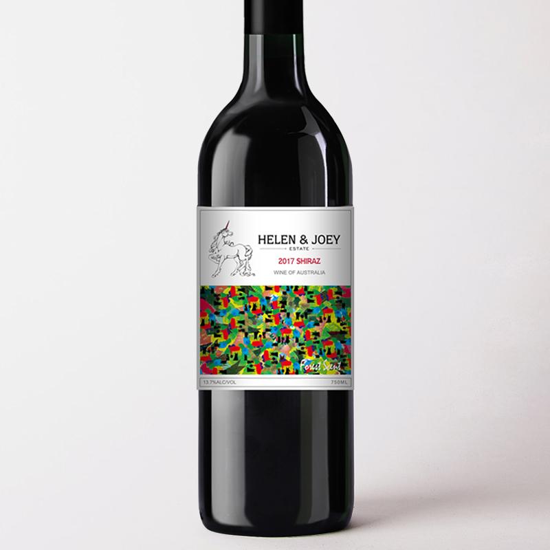 紅角莊森林氣息設拉子干紅葡萄酒