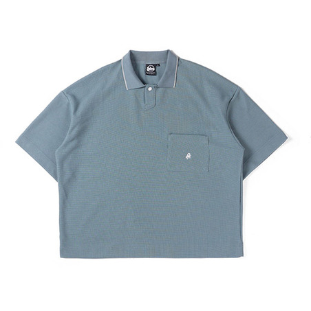 LOOSEFIT THICK POLO TEE-3