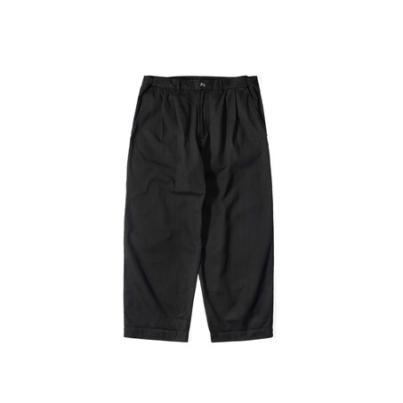 GENTLE ELASTIC WORK PANTS