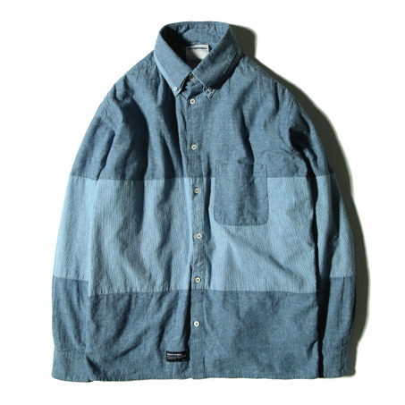 """2-WAY""DOUBLE COLLAR SHIRT"
