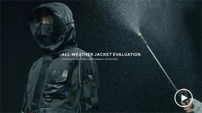 ALL-WEATHER JACKET EVALUATION