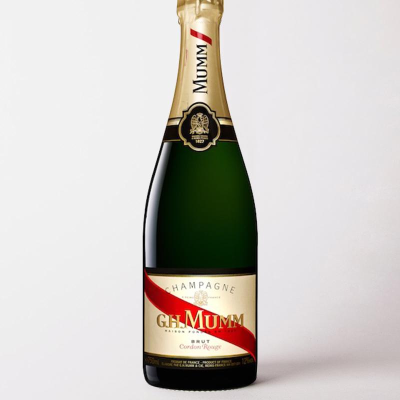 瑪姆紅帶香檳葡萄酒