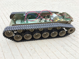 减震坦克机器人底盘 平台 超大 履带车 悬挂坦克 减震 平台 越野