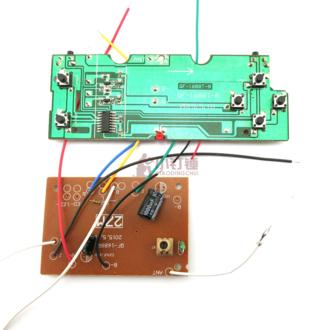 六6通道遥控电路板 遥控器 27M 遥控模块 DIY 遥控车坦克 制作