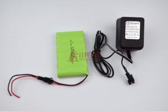7.2v 700毫安 充电套装 diy供电 电池组+充电器