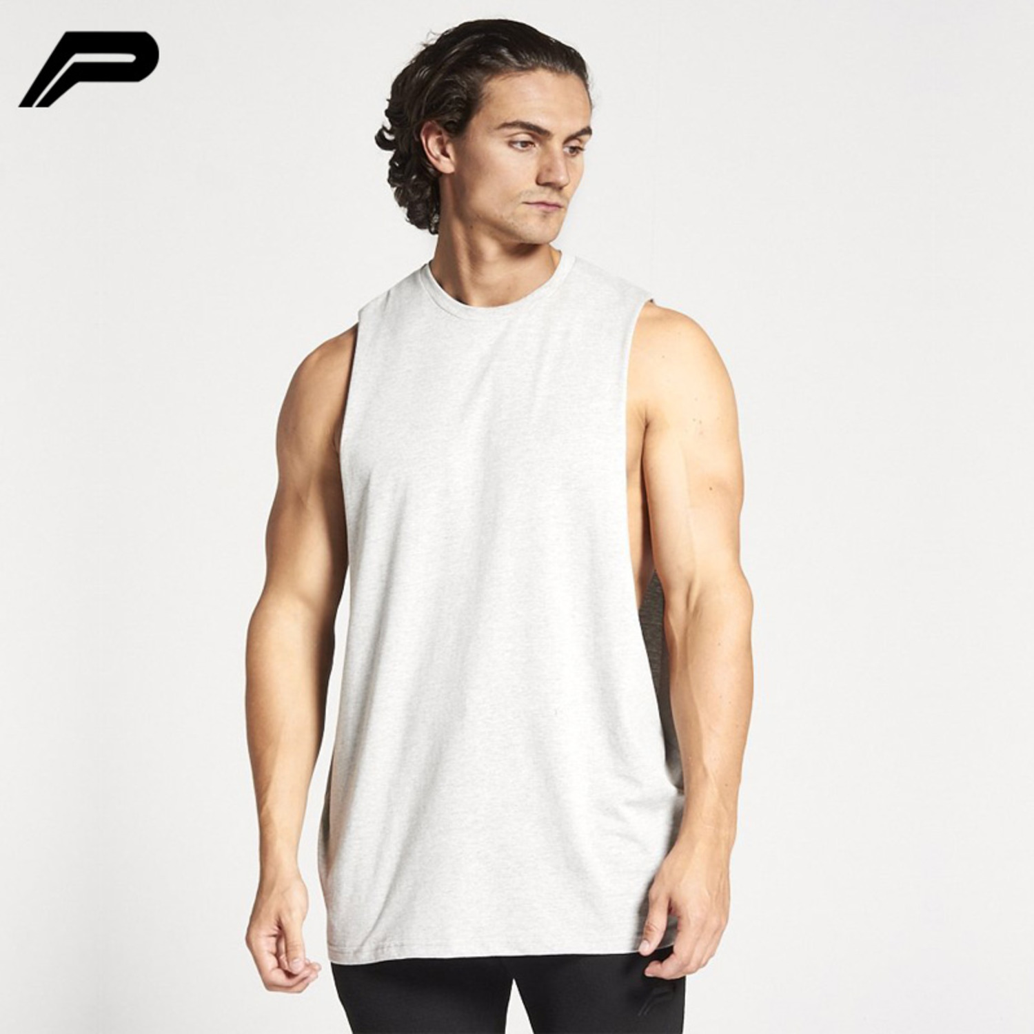 Pursuefitness 背心 BODYBUILDING 'CUT OFF' TANK-3
