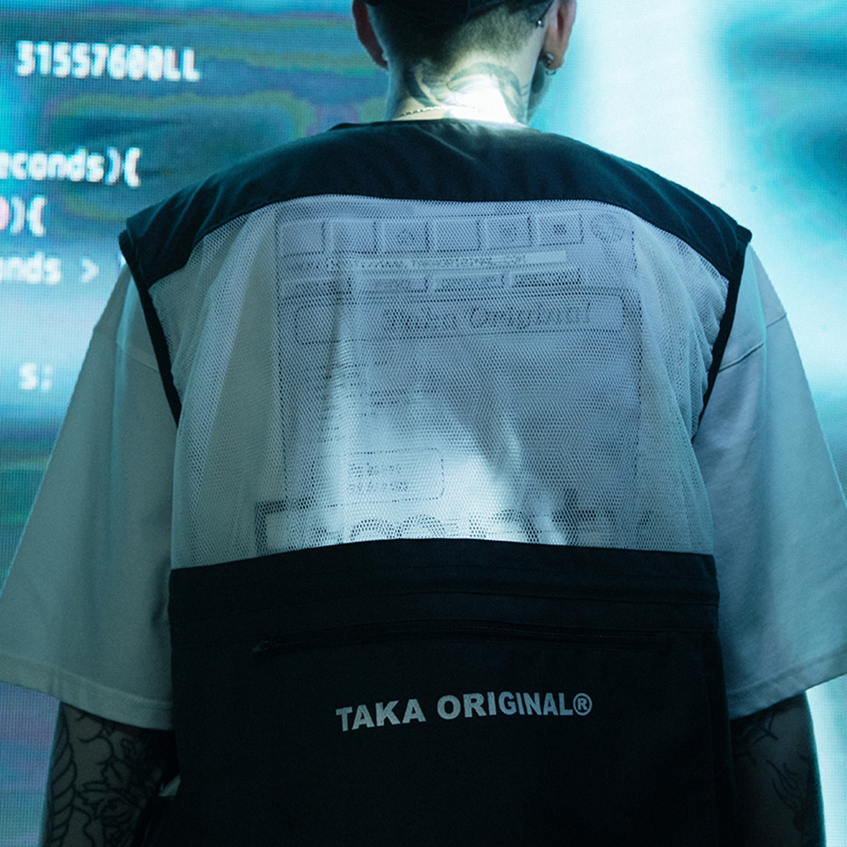 TAKA ORIGINAL 2019SS CITY MULTI-POCKET VEST-3