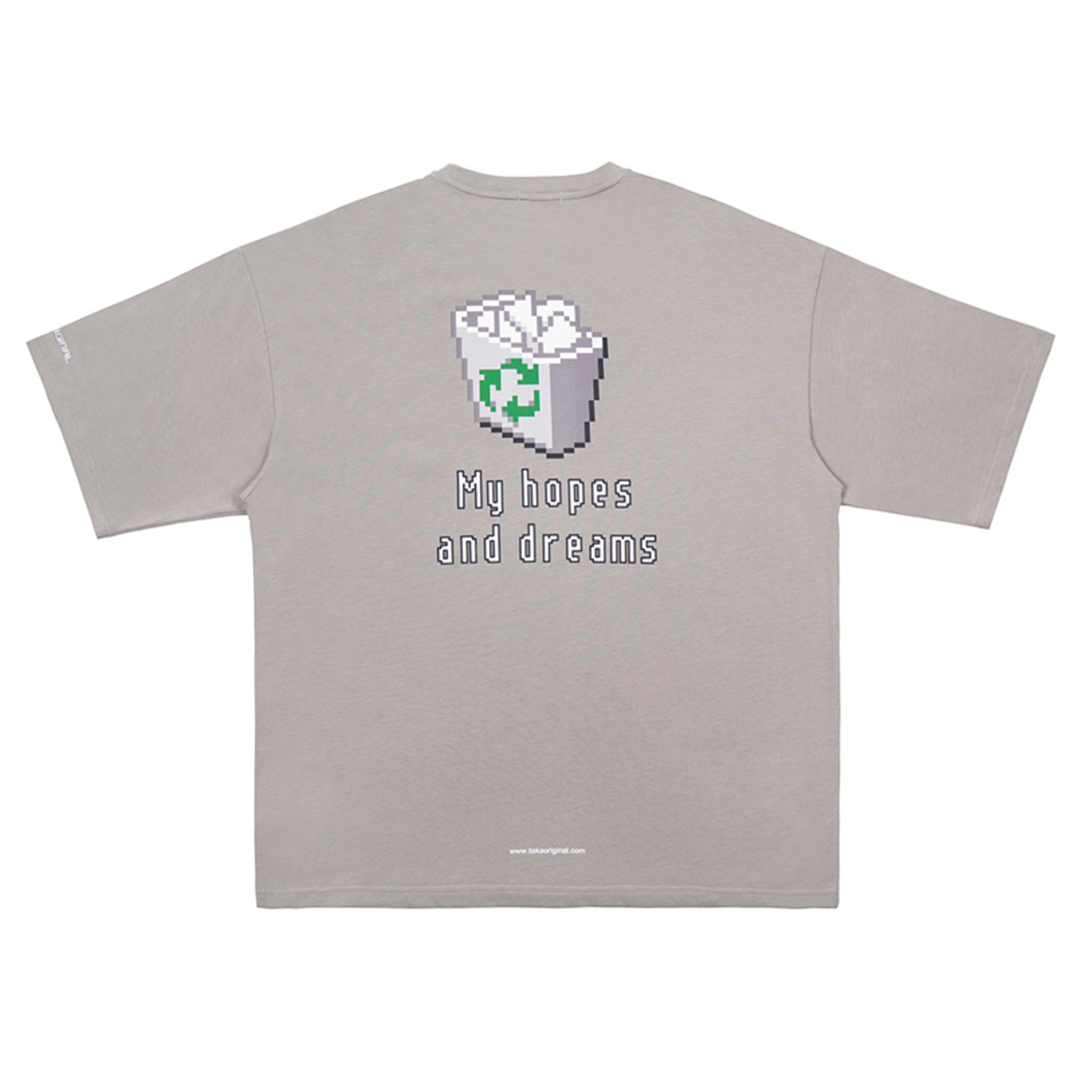 TAKA ORIGINAL19SS TRASH HOPE T-SHIRT-2