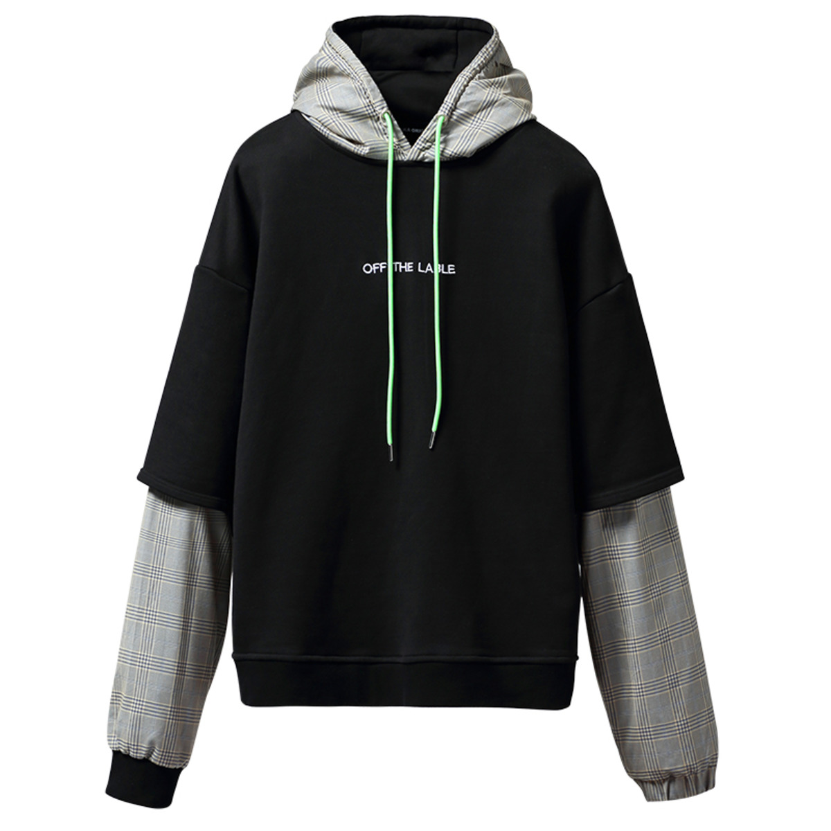 TAKA ORIGINAL 19AW EMBROIDERED LOGO HOODIE