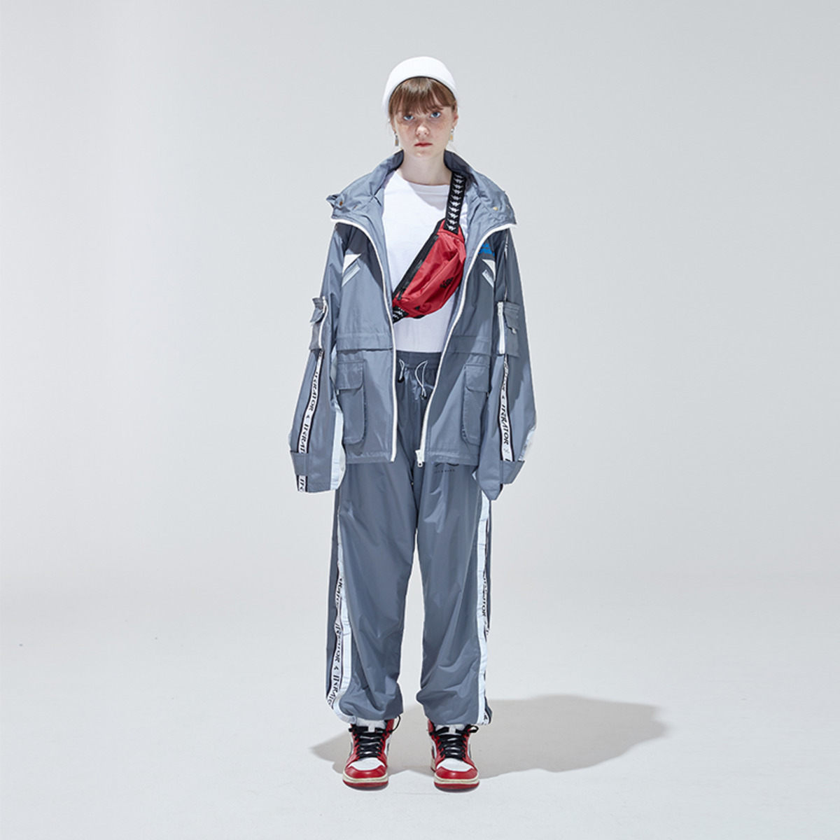 TAKA ORIGINAL 19SS REFLECTION TRACK PANTS-1