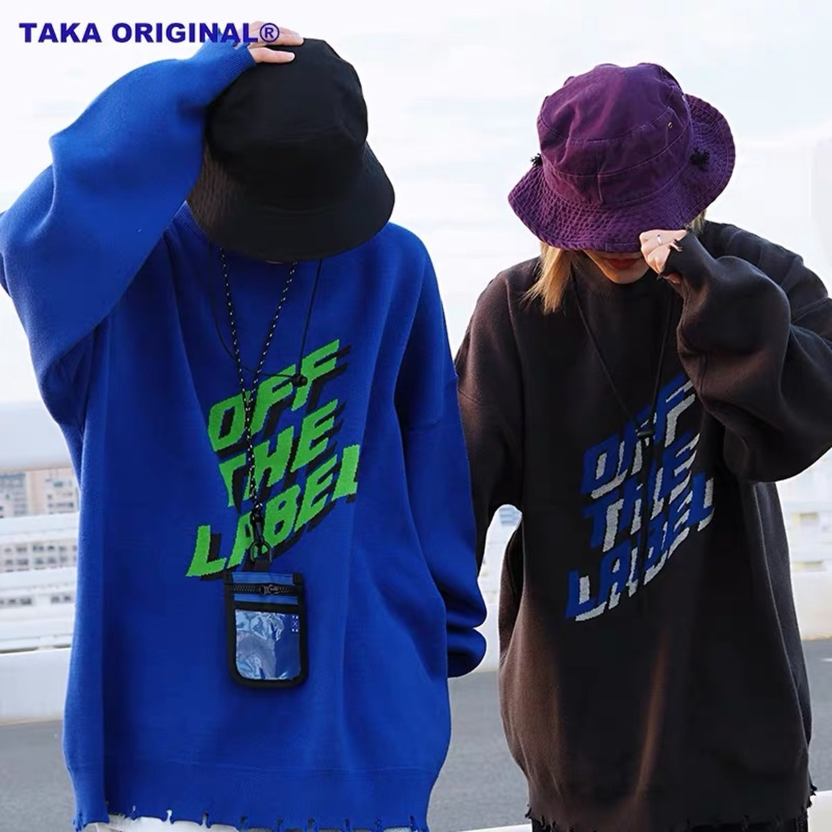 TAKA ORIGINAL 19AW OFF THE LABEL KNIT JUMPER-4