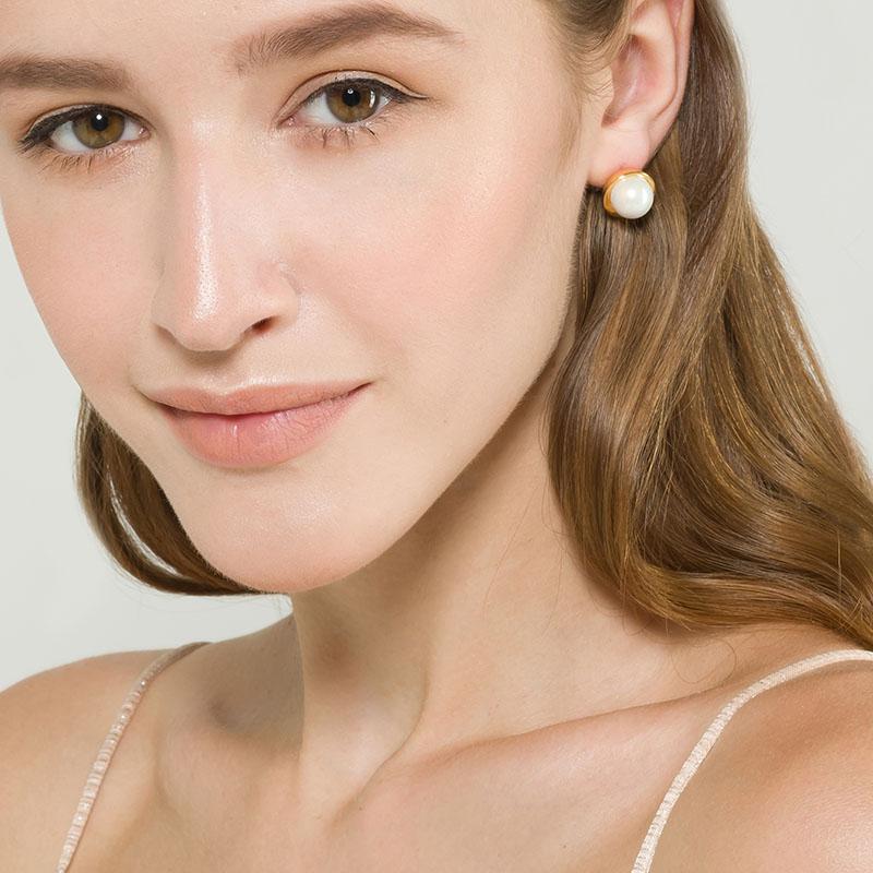 EUDAECOME遇见系列小珍珠耳钉