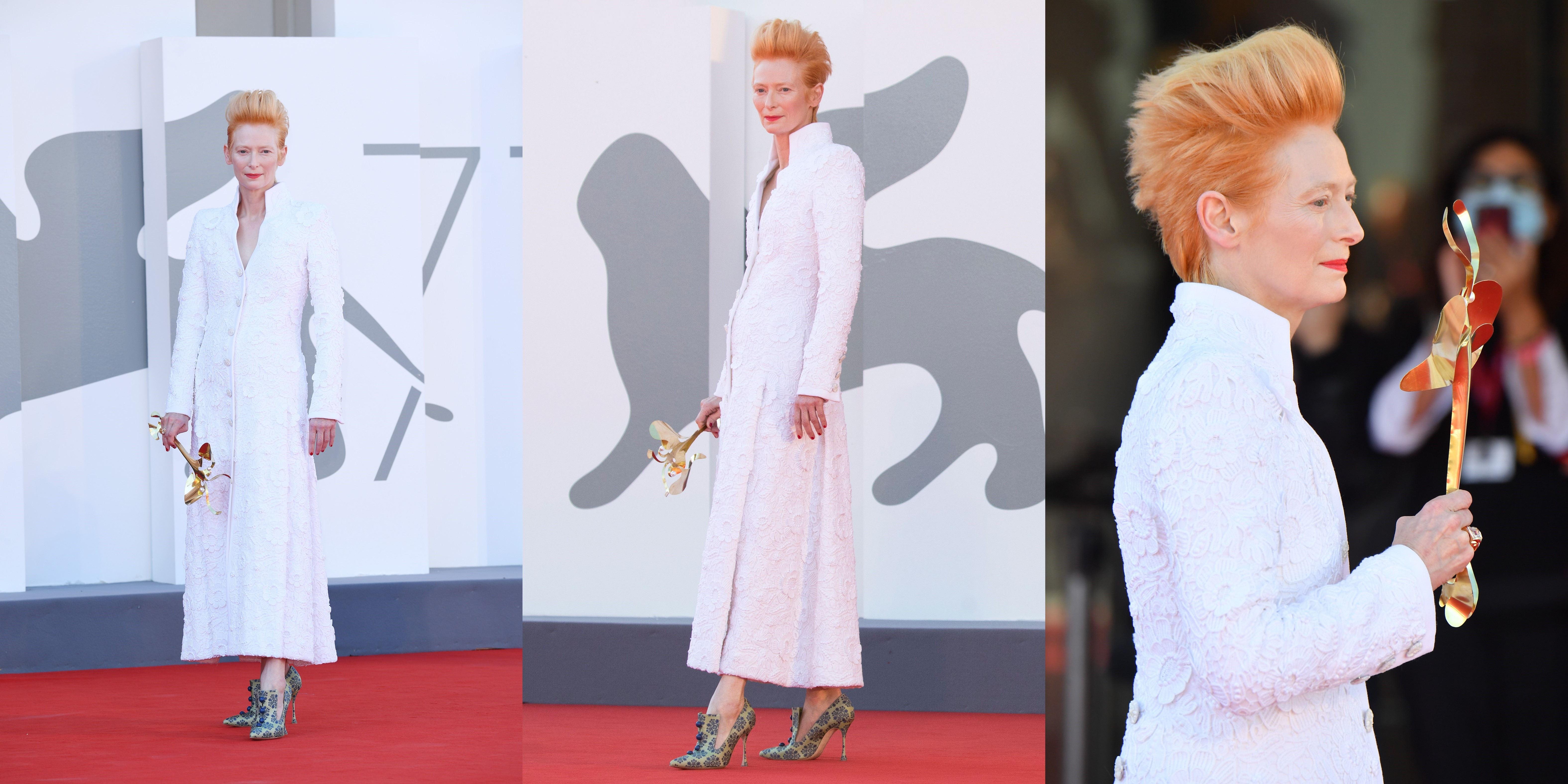 再穿旧礼服的大魔王, 气场十足的古一法师, 被LV承包的汀妹, 谁是威尼斯电影节红毯最佳造型?