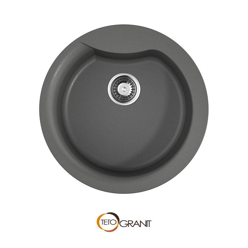 YASUGATA-48R花岗岩厨房圆水槽图片_尺寸_价格-OMOIKIRI奥木吉丽中国官网
